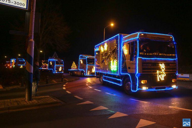 Christmas Truckrun door de regio