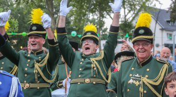 Huldiging schutterij St. Willibrordus Meijel (Video)